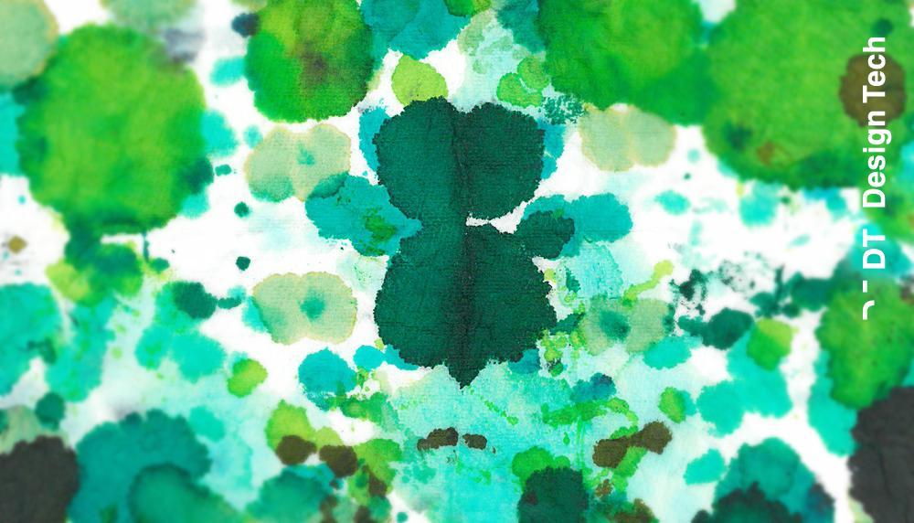 Abstrakt Farbe grün