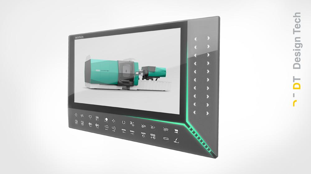 Arburg GESTICA Steuerung - smarte Bedienung mit innovativem Design